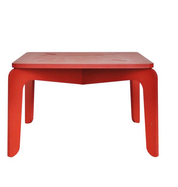 mesa-FUGEE-60x60-vermelha-frente